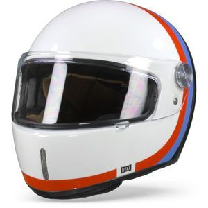 Nexx X.G100 R Speedway White Blue Full Face Helmet