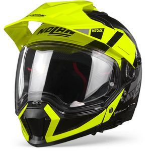 Nolan N70-2 X Decurio 30 Flat Black Yellow White Anthracite