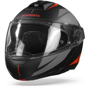 Schuberth C4 Pro Merak Black Red