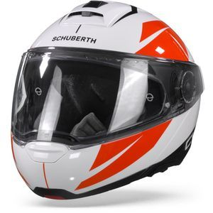 Schuberth C4 Pro Merak White Red
