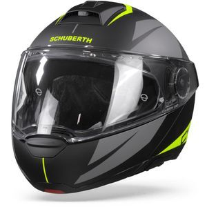 Schuberth C4 Pro Merak Black Yellow
