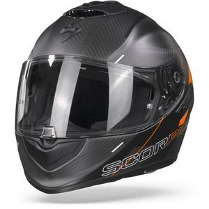 Scorpion EXO-1400 Carbon Air Drik Matt Black Orange