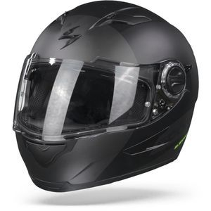 Scorpion EXO-490 Pace II Matt Black Silver