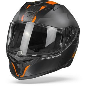 Scorpion EXO-520 Air Laten Matt Black Orange