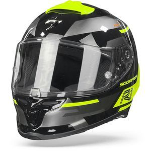 Scorpion EXO-R1 Air Orbis Black Neon Yellow