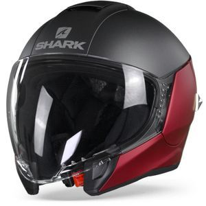 Shark Citycruiser RAR Dual Blank Matt Red Anthracite Red