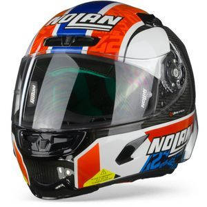 Nolan X-803 RS Ultra Carbon 22 Rins Carbon Black White Red Blue