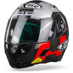 X-Lite X-803 Ultra Carbon 51 Petrucci Test Carbon Black White Red