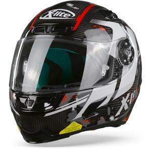 X-Lite X-803 Ultra Carbon Provocator 56 Carbon Black White Red