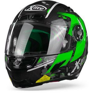X-Lite X-803 Ultra Carbon Provocator 58 Carbon Black Green White