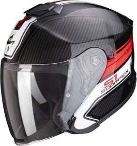 Scorpion EXO-S1 Cross-Ville Black Red Jet Helmet