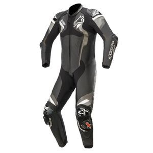ALPINESTARS ATEM V4 BLACK GRAY WHITE 1 PIECE