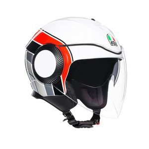 AGV Orbyt Brera White Grey Red