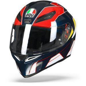 AGV K1 Pitlane Blue Red Yellow