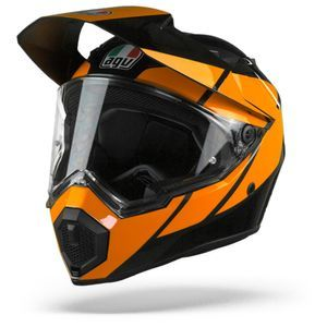 AGV AX9 Trail Gunmetal Casco Integral (Full Face) Naranja