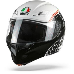 AGV Compact ST Detroit Casco Integral (Full Face) Blanco Negro