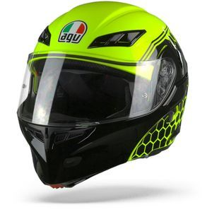 AGV Compact ST Detroit Yellow Fluo Black
