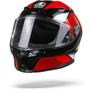 AGV K6 Max Vision Hyphen Black Red White