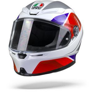 AGV K6 Max Vision Hyphen White Red Blue