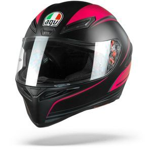 AGV K1 Warmup Black Pink
