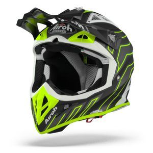 Airoh Aviator ACE Art Casque Motocross Noir Mat