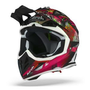 Airoh Aviator ACE Insane Mat Casque Motocross
