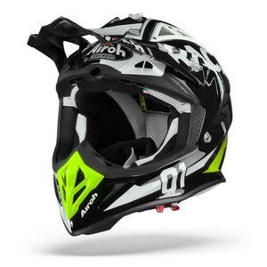 Airoh Aviator ACE RacR Gloss Casco Motocross