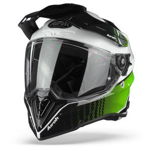 Airoh Commander Progress Casque Aventure Lime Brillant