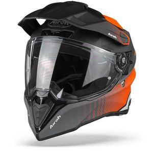 Airoh Commander Progress Casque Aventure Orange Mat