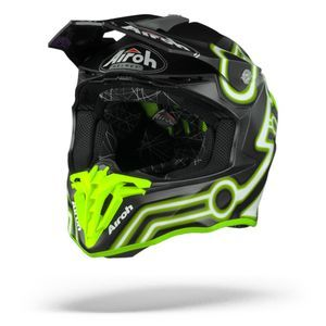 Airoh Twist 2.0 Neon Casco Motocross Amarillo Mate