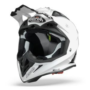 Airoh Aviator ACE Casque Motocross Blanc Brillant
