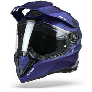 Airoh Commander Color Casque Aventure Bleu Mat