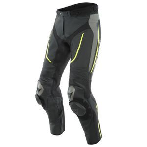 Dainese Alpha Perf. Black Matt Gray Fluo Yellow