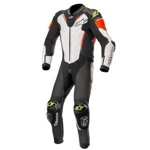 Alpinestars Atem V3 Black White Red Fluo Yellow Fluo Leather 1PC