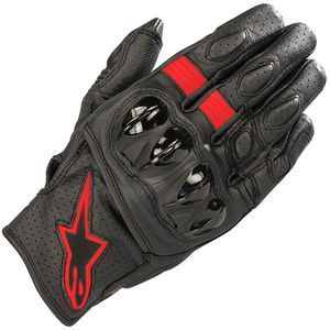 Alpinestars Celer V2 Black Red Fluo