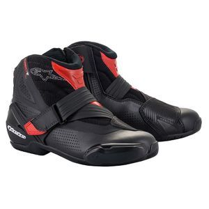 Alpinestars SMX-1 R V2 Vented Black Red