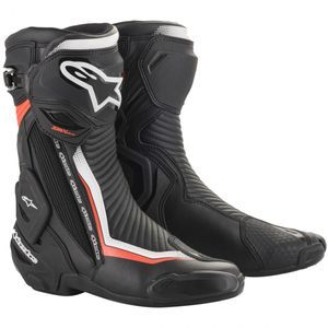 Alpinestars SMX Plus V2 Black White Red Fluo