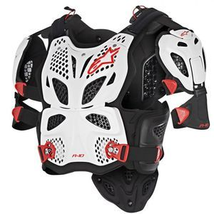 Alpinestars A-10 Full White Black Red