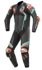 Alpinestars Atem V4 Black Petrol Red Fluo 1 Piece