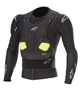 Alpinestars Bionic Pro V2 Black Yellow Fluo