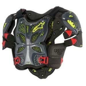 Alpinestars A-10 Anthracite Black Red Full