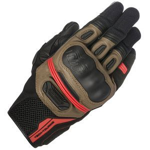 Alpinestars Highlands Black Tabacco Brown Red