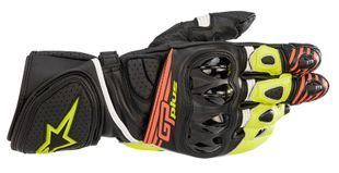 Alpinestars GP Plus R V2 Black Yellow Fluo Red Fluo