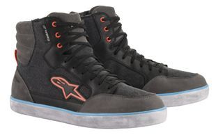 Alpinestars J-6 Waterproof Canvas Black Anthracite Light Blue