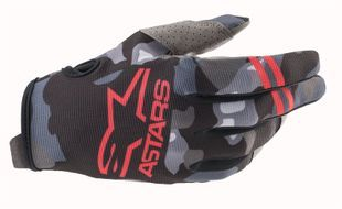 Alpinestars Radar Gray Camo Red Fluo