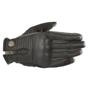 Alpinestars Rayburn Black Gray Red Leather