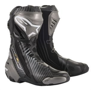 Alpinestars Supertech R Black Gray Gold