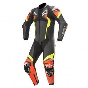 Alpinestars Atem V4 Black Red Fluo Yellow Fluo 1 Piece
