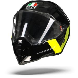 AGV AX-8 Evo Naked Identity Black Yellow