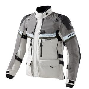 REV'IT! Dominator Gore-Tex Chaqueta Motorista Gris Claro Verde